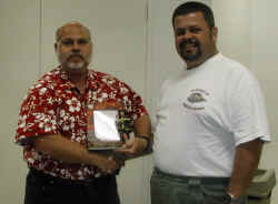 """Tom Hobbs, Crest 46, awarded with the """"Goody Award"""""""