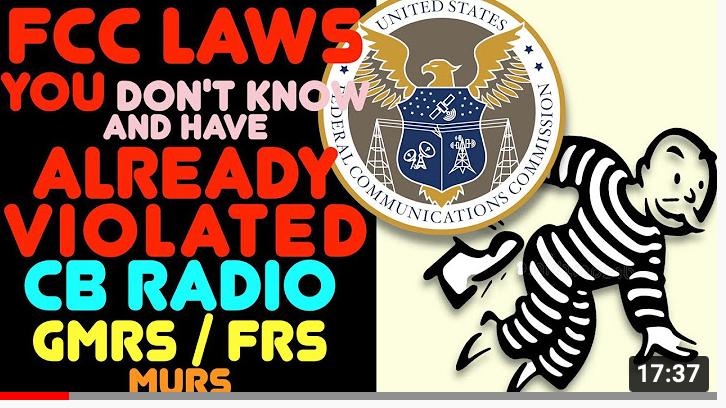 FCC Laws You Have Probably Broken!