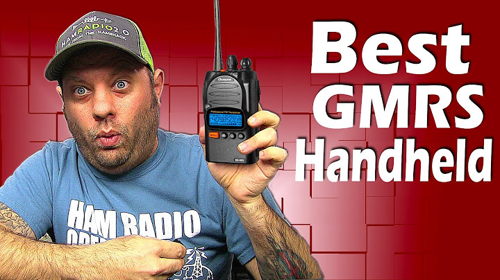 What is the best GMRS Radios?