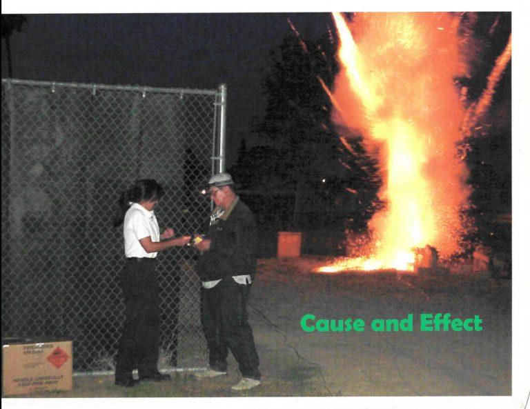 Fireworks Show – July 4, 1997